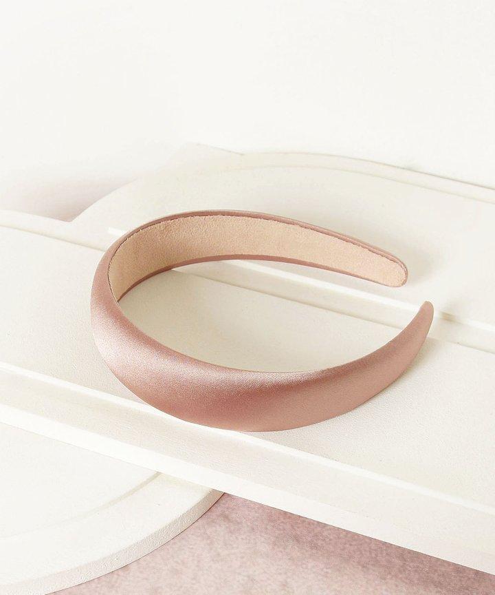 Mirelle Satin Hairband - Rose Pink (Restock)