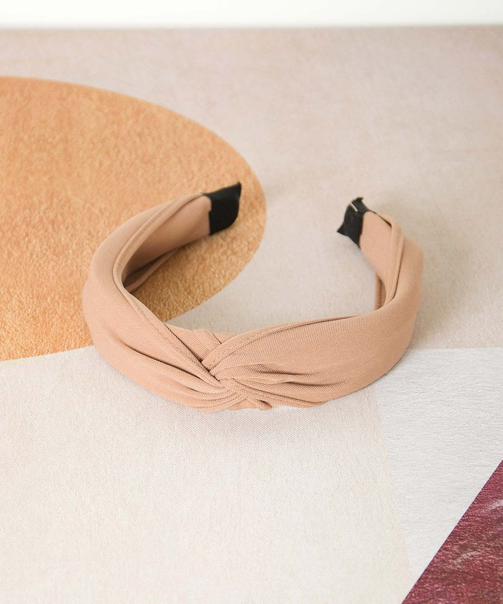 Risette Knotted Headband - Rose Tan (Restock)