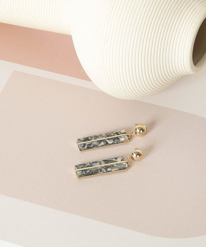 Cadence Rectangular Earrings