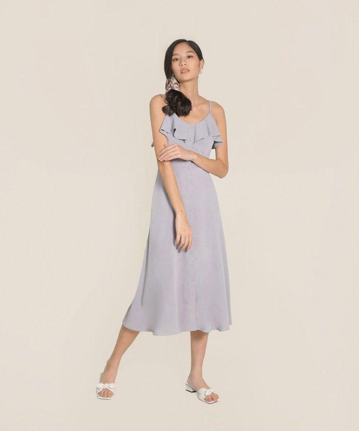 Dion Ruffle Maxi Dress