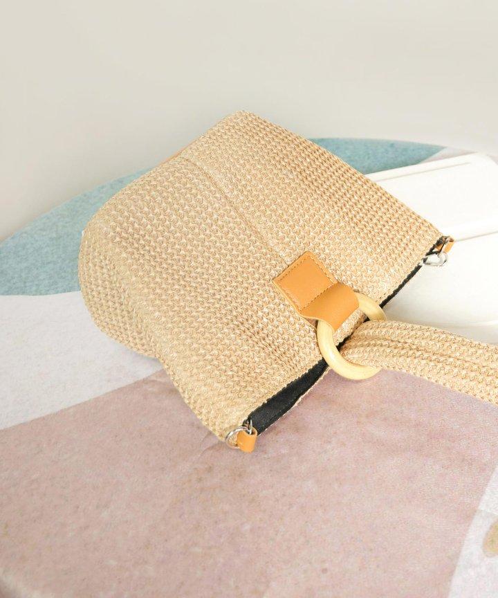 Nassau Woven Handbag