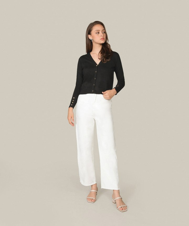 Chicory Wide Leg Jeans
