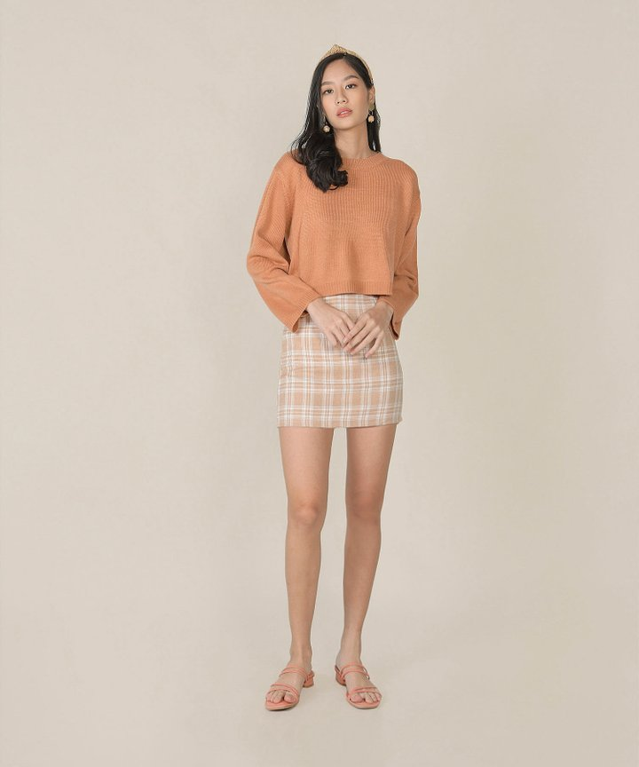 Zeisel Knit Sweater - Melon (Restock)