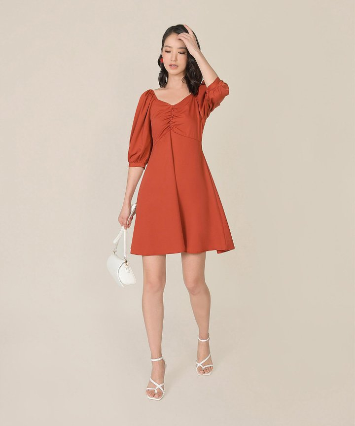 Verona Ruched Dress