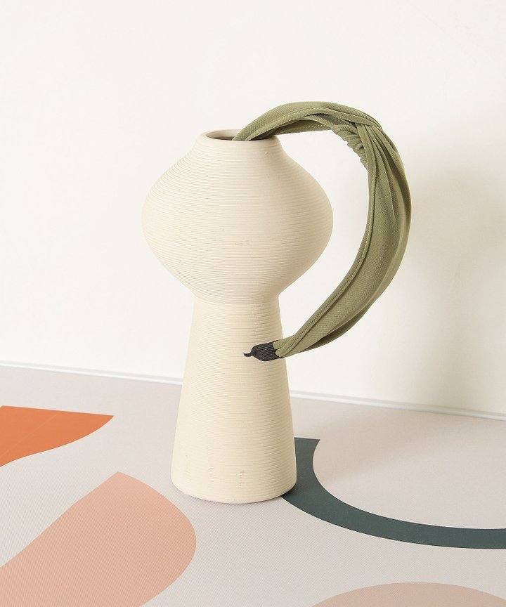 Elm Knot Hairband - Olive