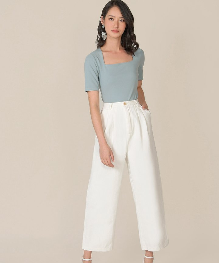 Kincaid Classic Top - Pale Turquoise