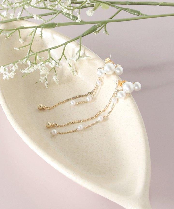 Marion Pearl Drop Earrings