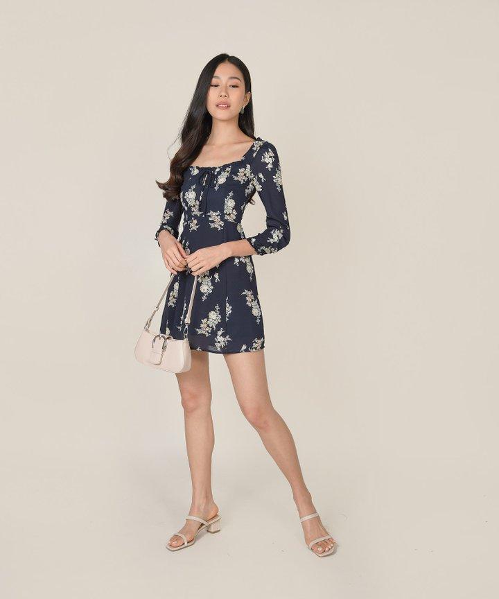 Avarice Floral Mini Dress (Backorder)