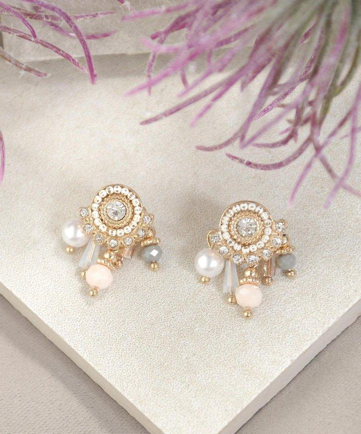 Marion Pastel Embellished Earrings
