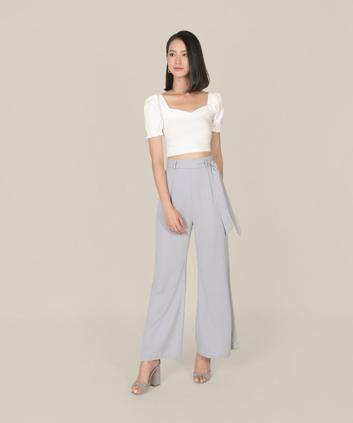 Andi Cropped Top - Off-White