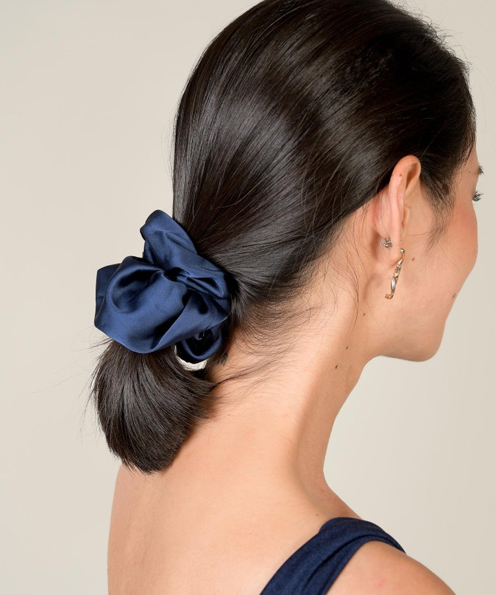 Aura Satin Scrunchie