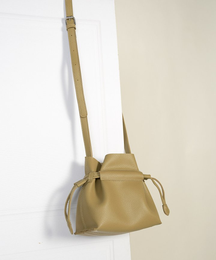 Caspian Bucket Bag - Shamrock