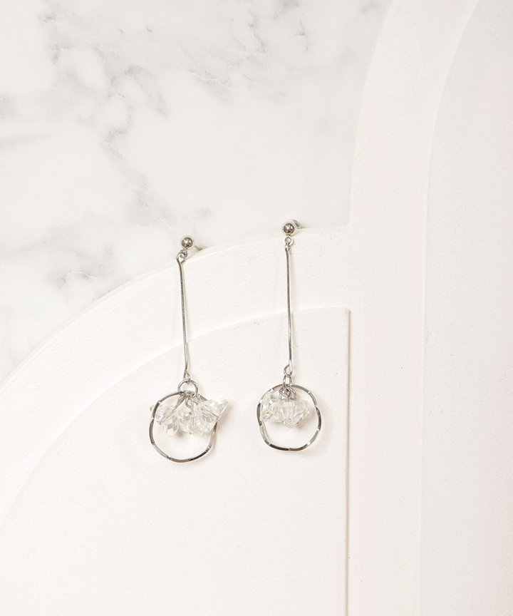 Disco Drop Earrings
