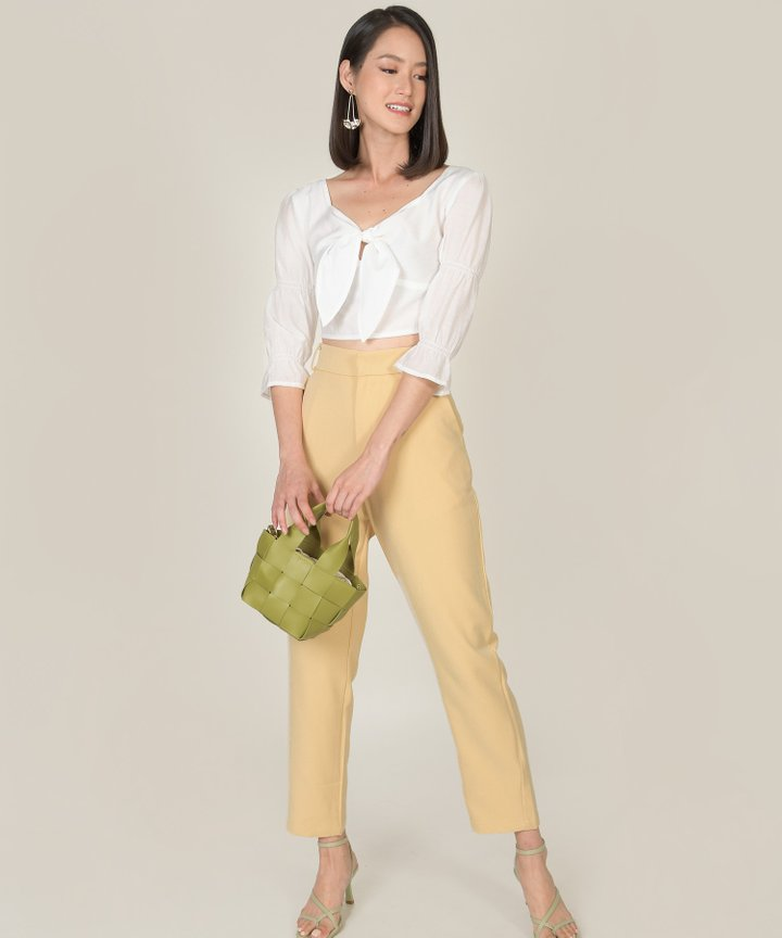 Elin Pants - Mellow Yellow