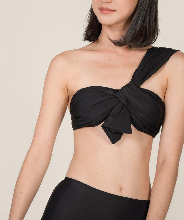 Maui Toga Knot Bikini - Black