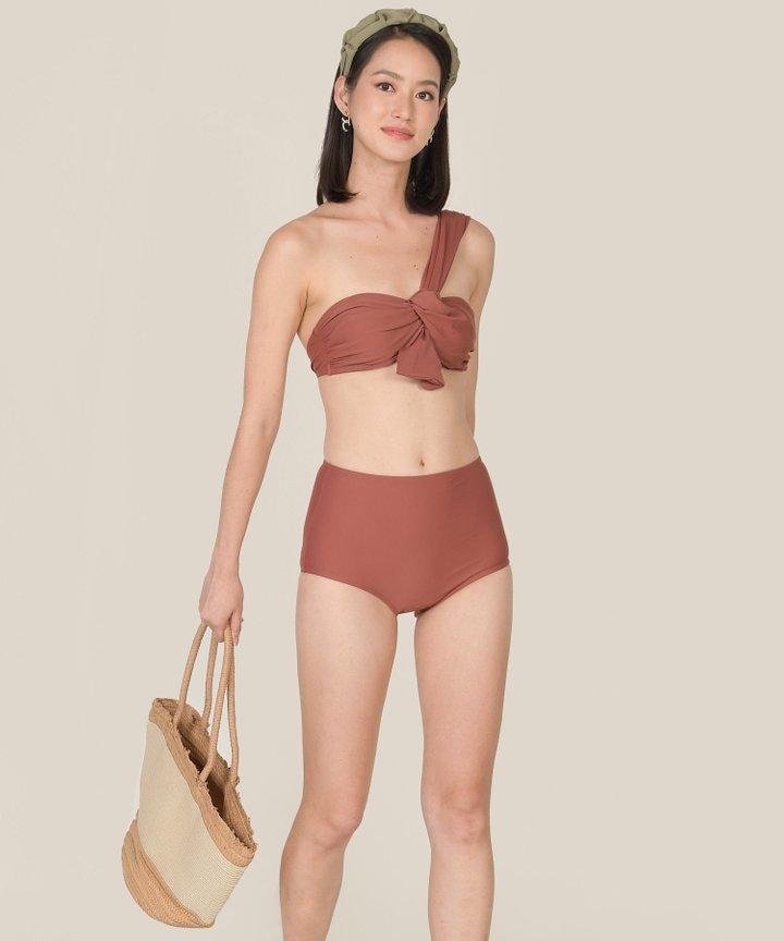 Maui Toga Knot Bikini - Redwood (Backorder)