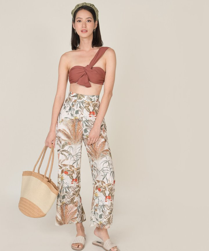 Paradiso Printed Wide Leg Pants