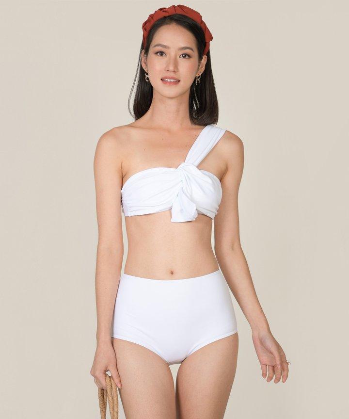 Maui Toga Knot Bikini - White