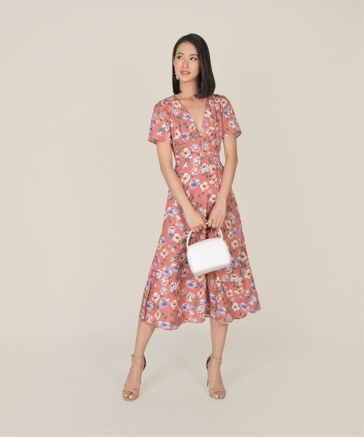 Odilet Floral Midaxi Dress