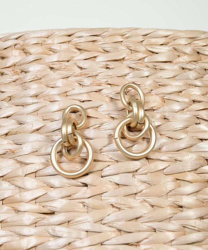 Oura Link Earrings
