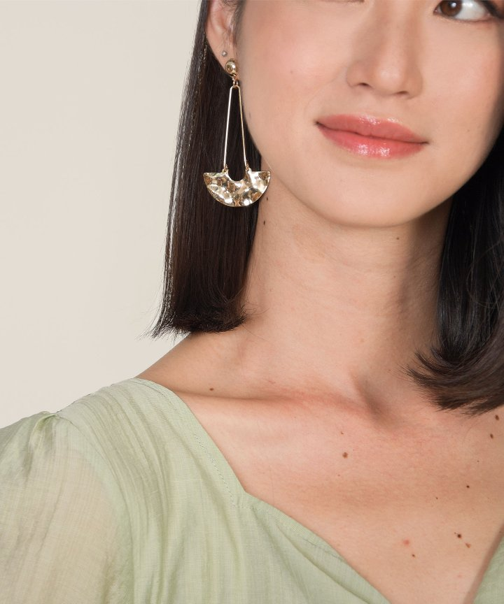 Ximena Statement Drop Earrings