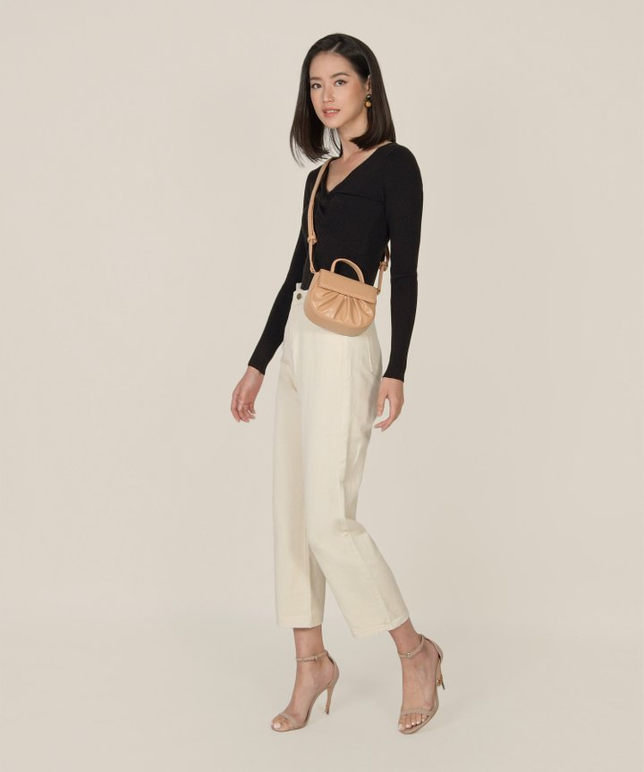 Mission Straight Leg Jeans - Ivory