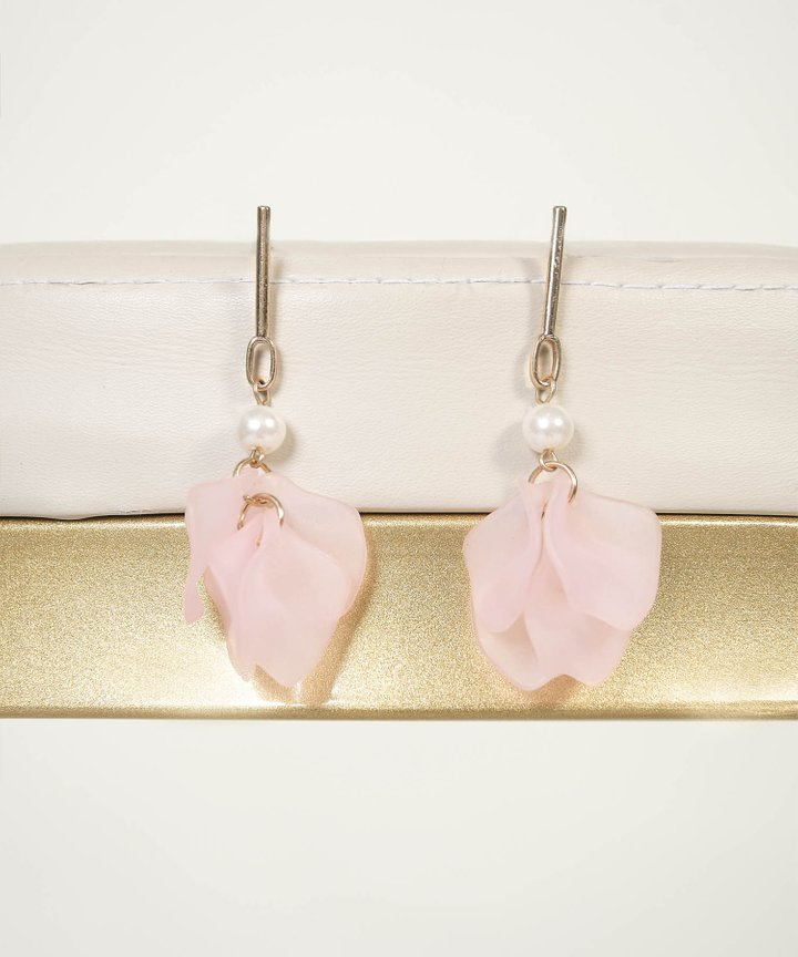 Meighen Petal Drop Earrings