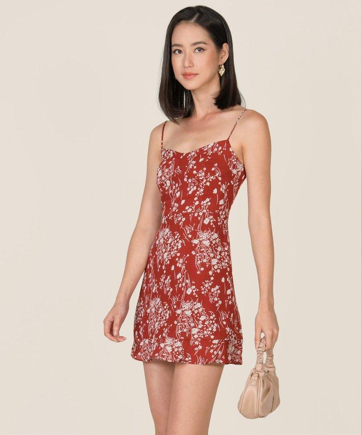 Pamplona Floral A-Line Dress (Backorder)